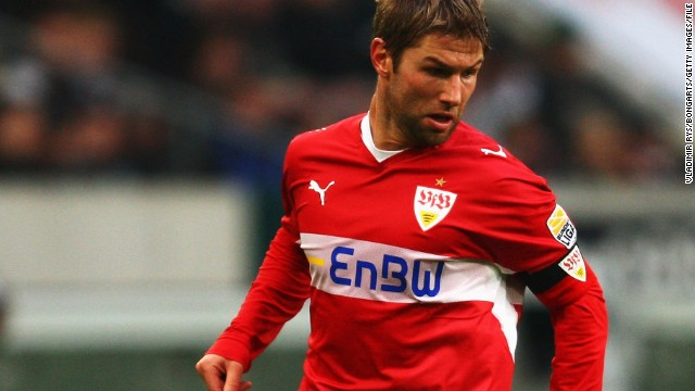 The midfielder returned to Germany in August 2005 when he moved from Stuttgart to Villa. Hitzlsperger won the German Bundesliga title with Stuttgart in the 2006-2007 season.