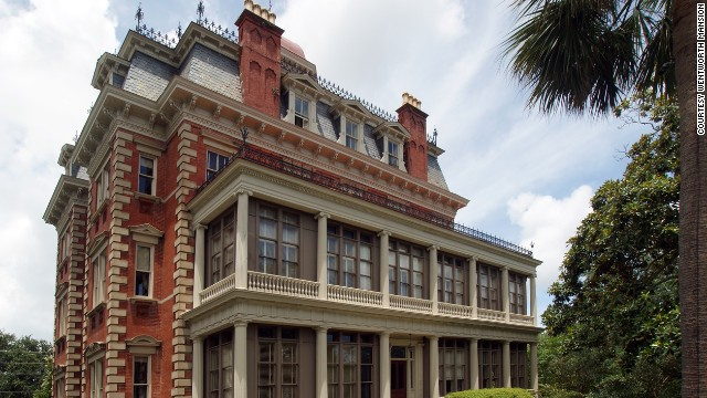 Wentworth Mansion in downtown Charleston, South Carolina, was built in 1886 for wealthy Southern cotton merchant Francis Silas Rodgers, his wife and their 13 children.