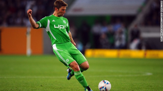 Before moving to Everton, Hitzlsperger played for Wolfsburg in his native Germany. Sadly, as with much of the latter part of his playing career, injury restricted his appearances during the 2011-12 season.