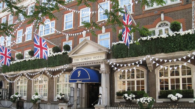 The Goring is widely considered one of the top luxury hotels on the planet and when it first opened back in 1910, each bedroom was fitted with en-suite bathrooms -- something that had never been seen before at any other accommodation property.