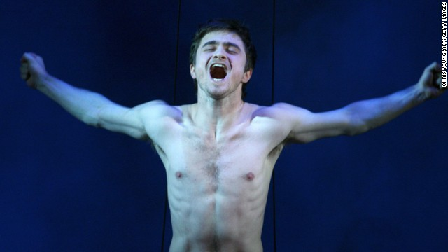 "Daniel Radcliffe spent so much time naked on the sets of films and productions, he had to ask the producers of his Brit drama, ""A Young Doctor's Notebook,"" to let him keep some clothes on. ""I think there was a discussion about possible nudity for one scene,"" Radcliffe recalled to <a href='http://www.independent.co.uk/arts-entertainment/films/news/after-getting-naked-for-three-films-daniel-radcliffe-says-no-thanks-to-more-nudity-8822375.html' target='_blank'>The Independent</a>, ""and I think my comment was, 'I got naked in three films last year, please can I not?' """