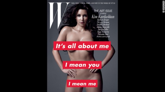Some of you might be more familiar with Kim Kardashian's curves than your own physique. The reality star became famous with a sex tape and stayed famous with her reality show and photos such as this one, which she did for W magazine in 2010. While Kardashian later said <a href='http://marquee.blogs.cnn.com/2010/10/18/kim-kardashian-too-old-to-pose-nude-again/?iref=allsearch' target='_blank'>she didn't think she'd ever pose nude again</a>, she still frequently posts the <a href='http://marquee.blogs.cnn.com/2014/01/06/kim-k-s-latest-selfie-takes-over-the-internet/' target='_blank'>next best thing on her Instagram account. </a>