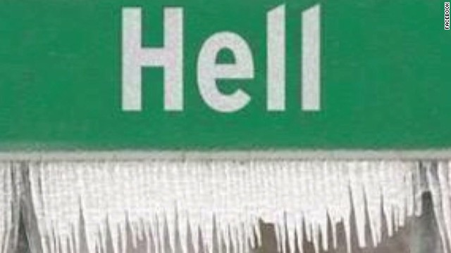 """El frío en Estados Unidos congeló hasta el """"Infierno"""""""