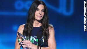 Sandra Bullock was a big winner at this year\'s People\'s Choice Awards.