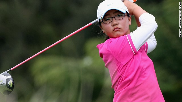 Even before she had become a teenager, Ko was a force in amateur tournaments in New Zealand, here taking part in an event in 2009.