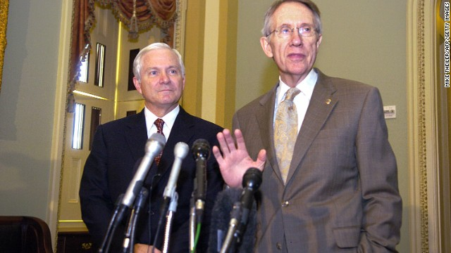 Gates: Reid called me about being Obama's running mate in 2008