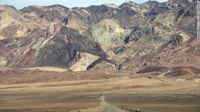According to the World Meteorological Organization, the hottest temperature of 56.7 C was recorded in California's Death Valley in the summer of 1913.