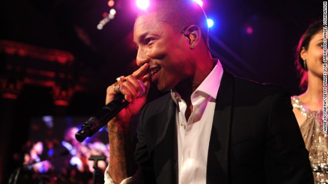 <strong>Pharrell: Performing April 12 and 19</strong>