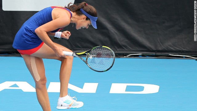Ivanovic kicked off 2014 in style by winning the WTA even in Auckland, New Zealand, beating fellow former world No. 1 Venus Williams in the final to claim the 12th title of her career.