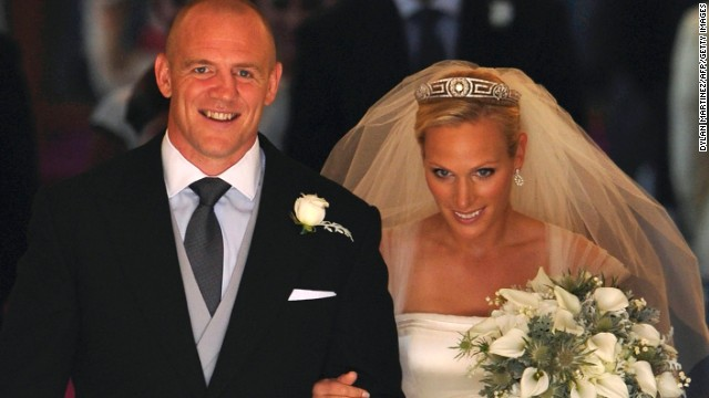 Mia's father is rugby star Mike Tindall, who married Phillips on July 30, 2011.