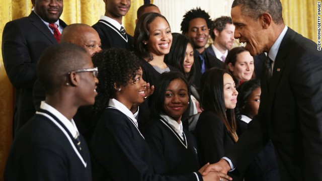 Obama turns personal at 'Promise Zones' announcement