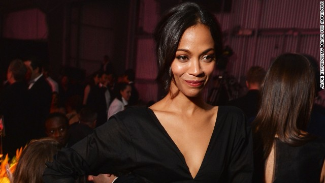 Zoe Saldana is having 'Rosemary's Baby'
