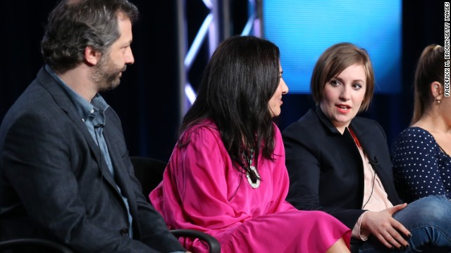 'Girls,' renewed for fourth season, sparks naked debate