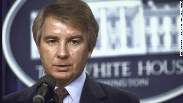<a href='http://www.cnn.com/2014/01/10/politics/reagan-spokesman-dies/index.html' target='_blank'>Larry Speakes</a>, who served as President Ronald Reagan's press secretary, died January 10 at his home in Cleveland, Mississippi, following a lengthy illness, according to Bolivar County Coroner Nate Brown. He was 74.