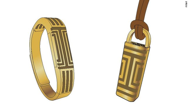 Fitness tracker company <a href='http://www.fitbit.com/' target='_blank'>Fitbit</a> is teaming with designer Tory Burch for a stylish line of trackers.