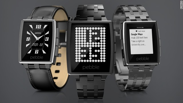 Pebble has released an upgraded version of its smart watch. <a href='https://getpebble.com/steel' target='_blank'>The Pebble Steel</a> comes with leather and metal straps and will cost $249.