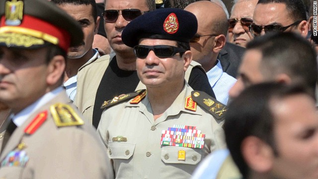 Egypt army chief to run for president?