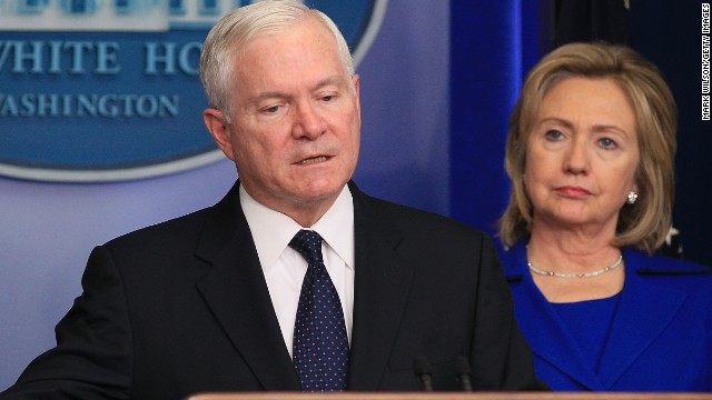 Gates says Clinton would make a good president