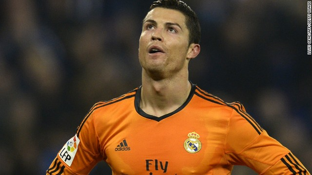 Cristiano Ronaldo has a resigned look after another chance goes begging in Real Madrid's 1-0 win at Espanyol.