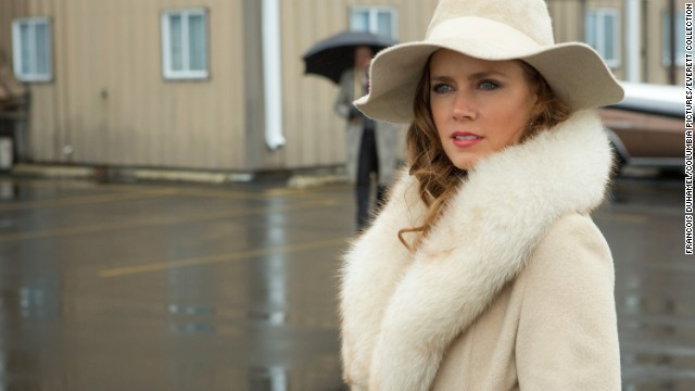 "Best actress in a motion picture, musical or comedy: Amy Adams, ""American Hustle"""