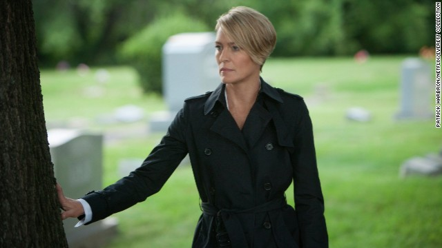 "Best actress in a TV series, drama: Robin Wright, ""House of Cards"""