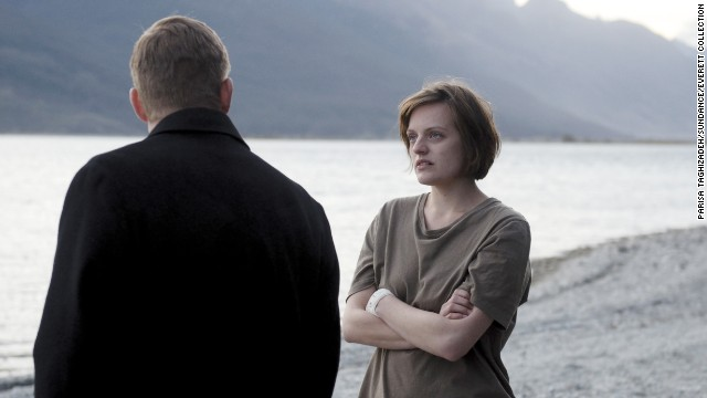 "<strong>Best actress in a </strong><strong>miniseries or TV film: </strong>Elisabeth Moss, ""Top of the Lake"""