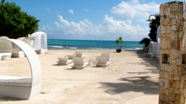 Cancun's Bel Air Collection has a secluded, boutique-resort feel.