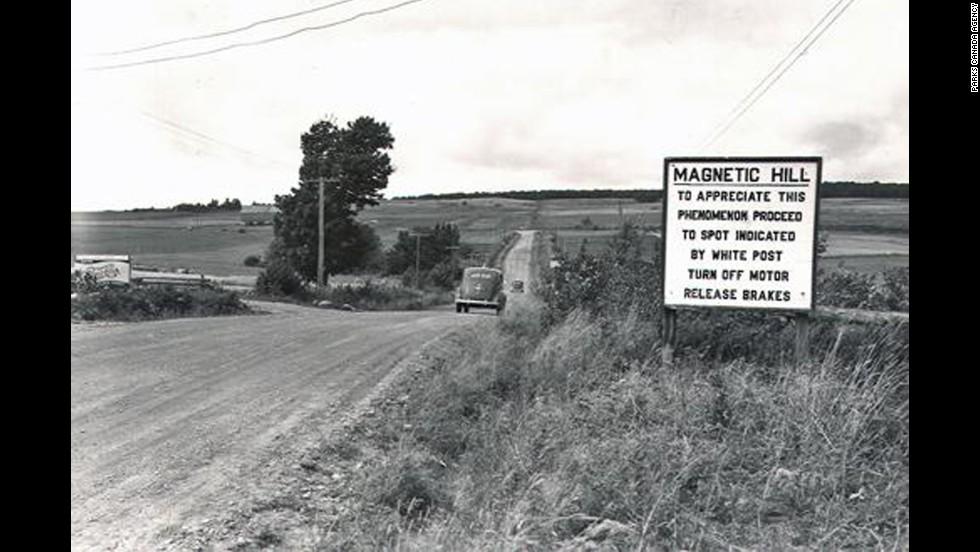 Colina magnética, Moncton, Nuevo Brunswick