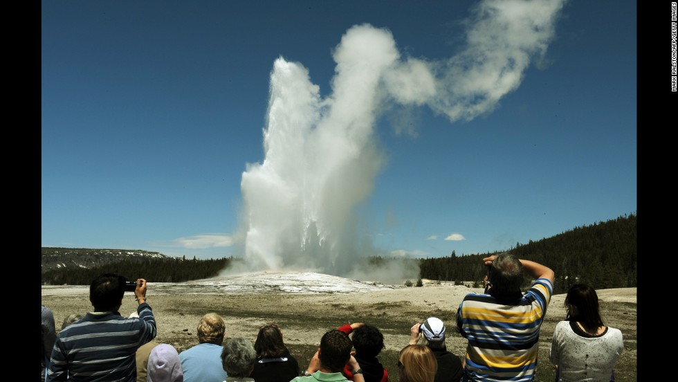 Old Faithful, Parque Nacional Yellowstone, Wyoming