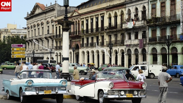 The old law, in place since 1959, meant car imports were banned. And those who wanted to buy a car in Cuba had to get a permit first. It also meant the old vintage American cars -- Fords, Pontiacs and Chevys, among them -- became icons of a previous motoring era.
