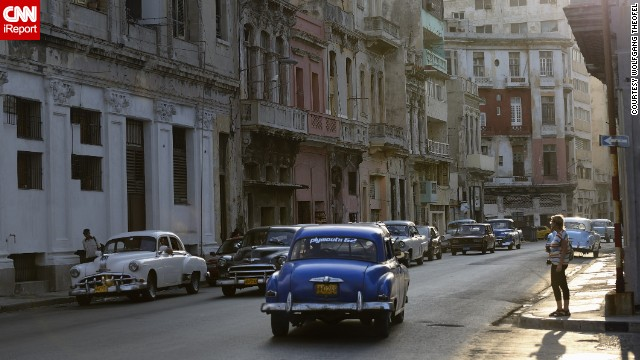 That made the cars beloved not just of their owners but of tourists too, many of whom visit Cuba to see theses prized transports.