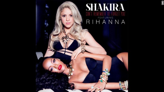 Shakira and Rihanna get steamy in new video