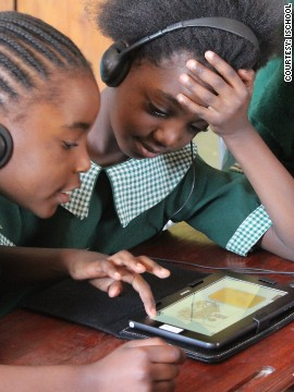 The ZEduPad is designed to offer every lesson through each grade of primary school and to meet the requirements of the Zambian national curriculum, according to Bennett.