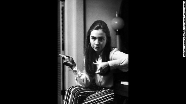 Before she married Bill Clinton, she was Hillary Rodham. Here, Rodham talks about student protests in 1969, which she supported in her commencement speech at Wellesley College in Wellesley, Massachusetts.