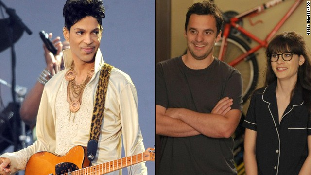 'New Girl' fan Prince to bless show with his presence