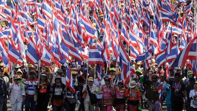 What's behind Thai protests?