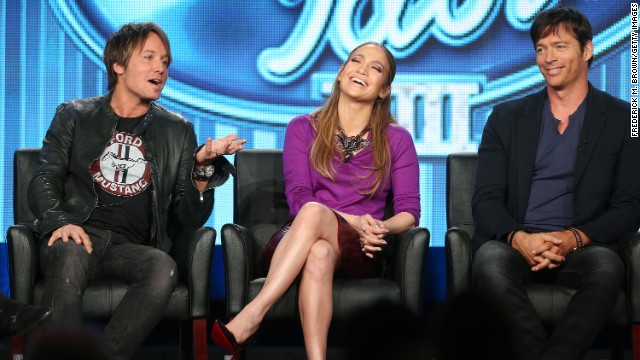 Oops! J. Lo lets 'F-bomb' fly on 'Idol'