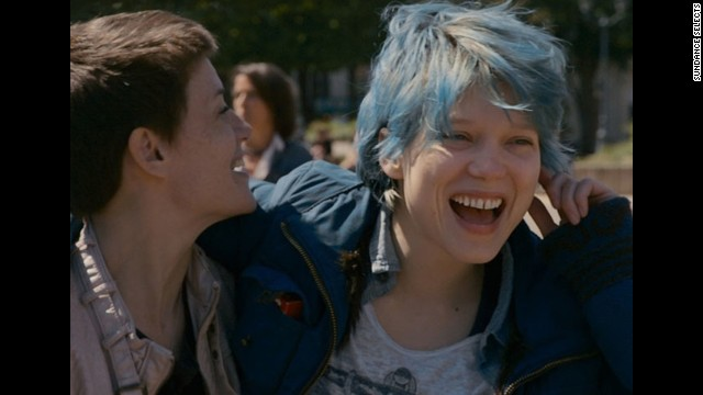 "You just never know what -- or who -- the Academy will nominate. ""Blue is the Warmest Color,"" about a lesbian relationship between a teenager and a slightly older art student, won the Palme d'Or at Cannes and could end up with a surprise nomination for the best picture Oscar."