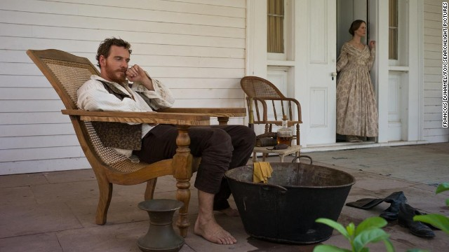 "Michael Fassbender and Sarah Paulson play a plantation-owning husband and wife in ""12 Years a Slave."" Though the movie has many strong performances, there might not be enough space for the Academy Awards to give the two of them nominations."