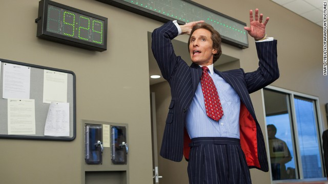 "Matthew McConaughey's great 2013 included well-reviewed performances in ""Mud,"" ""Dallas Buyers Club"" and -- though brief -- ""The Wolf of Wall Street."" Could the latter nab him a best supporting actor bid?"