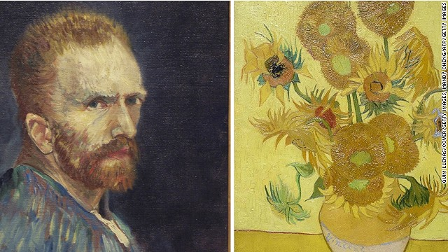 "Vincent van Gogh battled severe depression, and famously cut off his own ear. In spite -- or perhaps because -- of his troubles, he created legendary masterpieces, such as his ""Sunflowers"" series, pictured here."