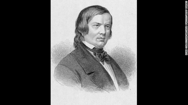 "Illustrious German composer and pianist Robert Schumann struggled with mental illness all his life, and was admitted to an asylum after a suicide attempt. He was diagnosed with ""psychotic melancholia"", and died having never recovered from it."
