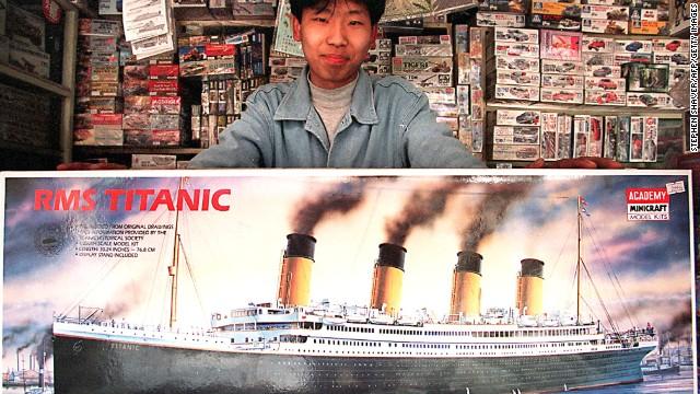 Parque temático chino recreará la colisión del Titanic con una réplica tamaño natural