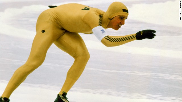 In nine days in February 1980 at Lake Placid, Eric Heiden claimed five gold medals after dominating the speed skating events. Following his success in skating, he turned to cycling and competed in the Tour de France.