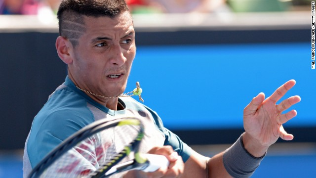 Former junior world No. 1 Nick Kyrgios is hoping to follow in the footsteps of compatriot Bernard Tomic in establishing himself on the senior circuit. While injury ended Tomic's 2014 Australian Open, Kyrgios won his opening match to the delight of the home crowd.