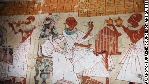 Unearthing tomb of ancient Egypt's beer maker