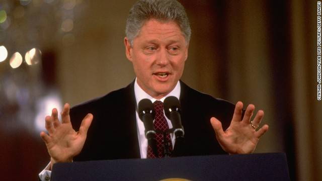 "Barely one day into his second term, President Bill Clinton acknowledged that ""mistakes were made"" by his administration in inviting a banking regulator to policy meetings where high-profile bankers and a top fundraiser were present."