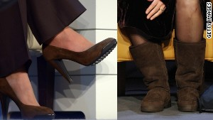 Sensible shoes are a must: Queen Rania, Emma Thompson