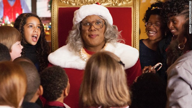 """A Madea Christmas"" picked up a worst actress nomination for star Tyler Perry."