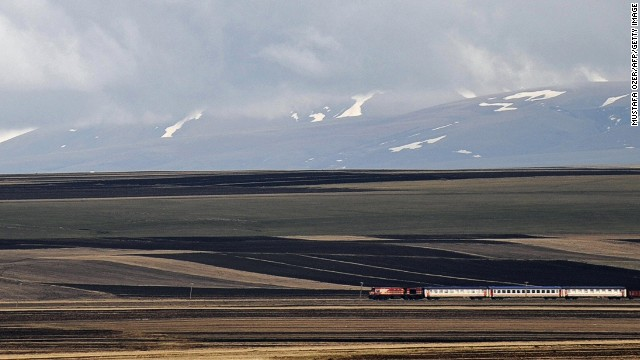It's easy to traverse most of Turkey by sleeper train.